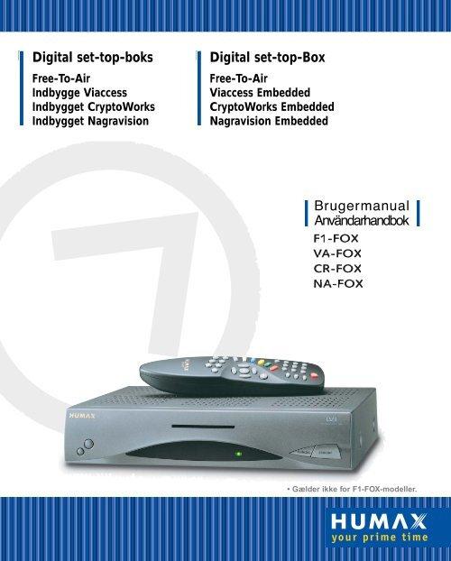 Digital set-top-boks Digital set-top-Box Brugermanual ... - Humax