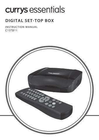 dvb set top box manual