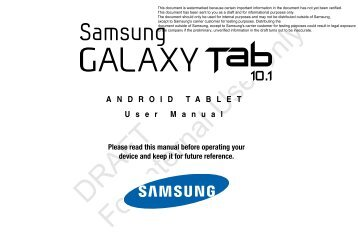 t mobile sgh t869 galaxy tab 7 0 plus user cell phones etc rh yumpu com Does AT &T Own T-Mobile t mobile user manual download
