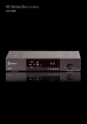 HD set-top box SCV-3800C - StarHub