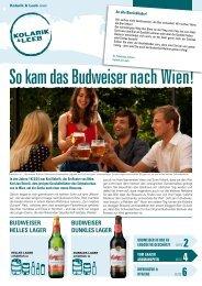 So kam das Budweiser nach Wien! - Kolarik und Leeb