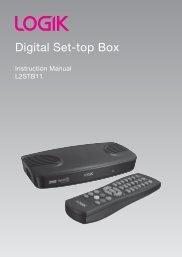 LOGIK Digital Set Top Box - KnowHow