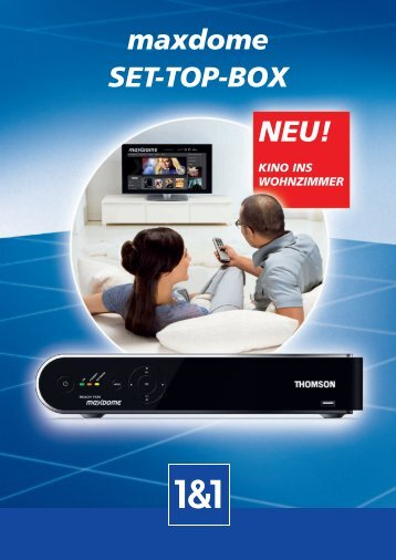 maxdome SET-TOP-BOX - 1&1 Hilfe Center