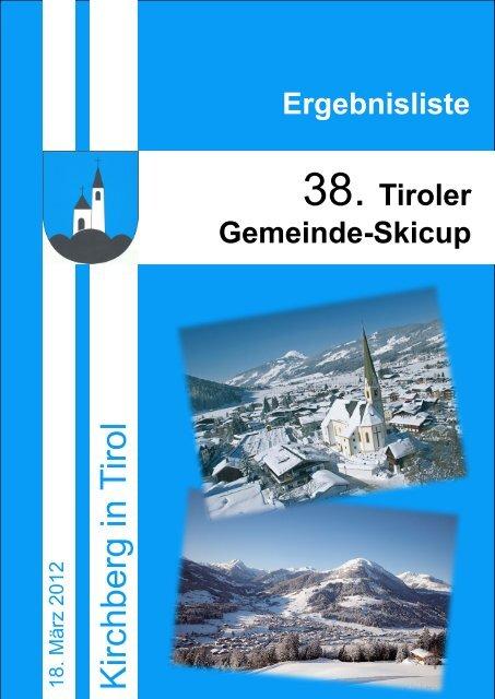 Tiroler Gemeinde-Skicup - Kirchberg in Tirol