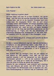 Nr.006 - Mittwoch, 30. April 2008 Der Hafen - big-max-web.de