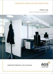 PRIME LINE Raum.Gliederung.System - GLM Novitas GmbH
