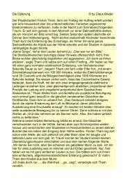Die Opferung © by Claus Bredel Der Physikstudent Florian Tham ...