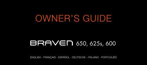 OWNER'S GUIDE