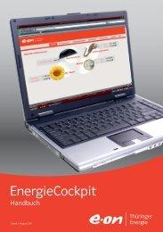 Handbuch EnergieCockpit - E.ON Thüringer Energie AG
