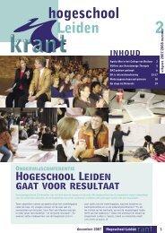 BUITEN- KANT - Hogeschool Leiden