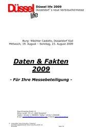 Daten & Fakten 2009 - EXPO + CONSULTING