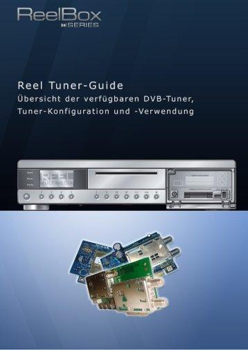 ReelBox Series - Informationen zu Reel DVB-Tuner-Karten