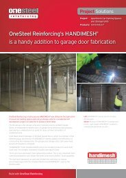 OneSteel Reinforcing's HANDIMESH® is a handy ... - Reinforcing.com