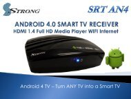 Android 4 TV – Turn ANY TV into a Smart TV - Strong Shop