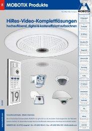 Mobotix Produkt Katalog 2011 - netmin computer GmbH