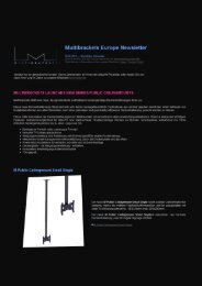 Multibrackets Europe Newsletter - Hagor