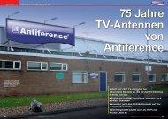 als 7 Jahrzehnte erfahrung mit TV-Antennen - TELE-satellite ...