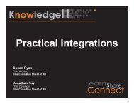 Practical Integrations Susan Ryan - ServiceNow Community