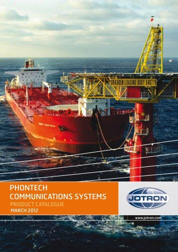 PHONTECH COMMUNICATIONS SYSTEMS - Jotron