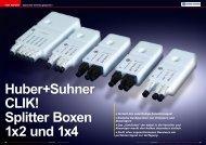 Huber+Suhner CLIK! - TELE-satellite International Magazine