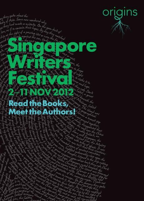 programme singapore writers festival