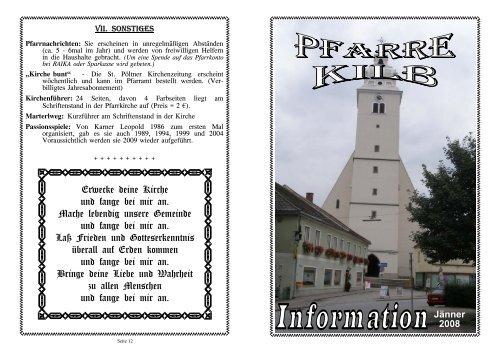 Hegering Kilb - Frderverein Rotes Kreuz Kilb - Volksschule