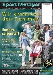 angebote event-vorschau 7. beach-volley ... - bei Sport-Metzger