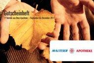 Lichterglanz! - Malteser Apotheke in Salzgitter - Bad