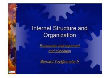 Internet Structure and Organization - Renater
