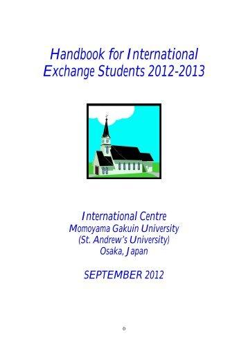 Academic Calendar for 2012-2013