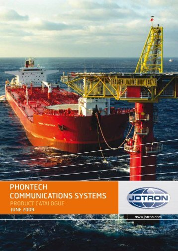 Phontech Communications Systems - Product ... - Jason Marine Ltd.