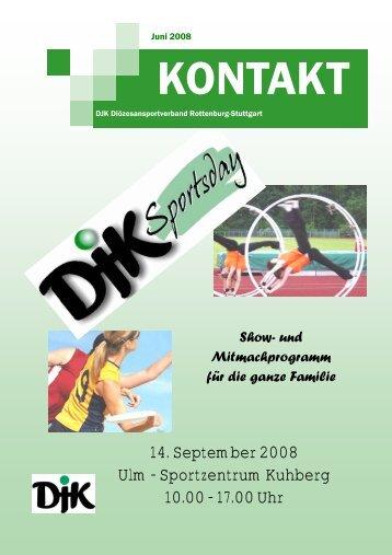 1 Kontakt 2008.pub - DJK-Diözesanverband Rottenburg-Stuttgart