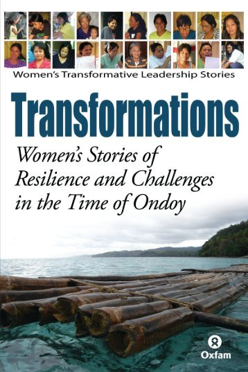 Transformations: Women's Stories of Resilience and - AusAID