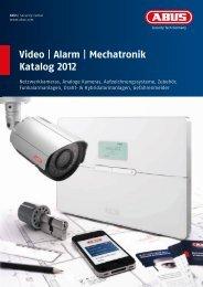 Video | Alarm | Mechatronik Katalog 2012 - ABUS Security-Center