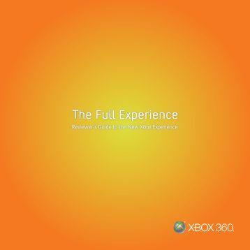 The Full Experience - Xbox.com