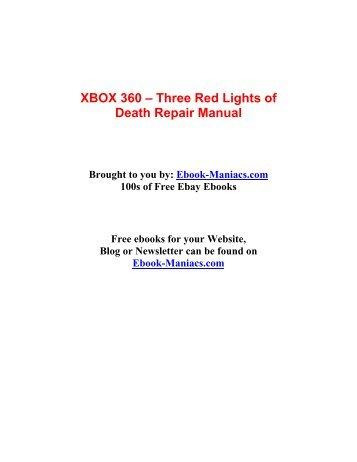 xbox 360 three red lights of death repair manual rh yumpu com Xbox 360 Accessories Xbox 360 Parts Diagram