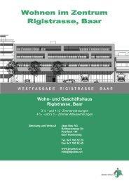 Wohn- und Geschäftshaus Rigistrasse, Baar - Jego AG