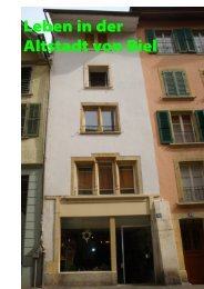 Leben in der Altstadt von Biel