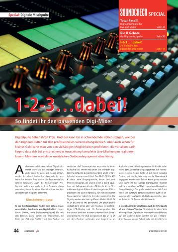 1-2-3…dabei! - Music Store News