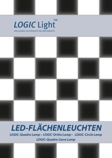 LOGIC- Ortho Lamp Rasterfeldleuchte - LOGIC Glas