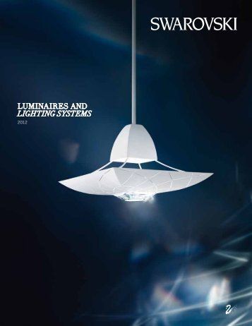 Luminaires anD Lighting SyStemS - Swarovski
