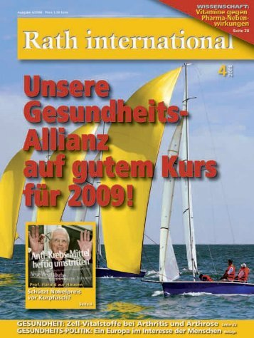 Rath international 04 2008 - Dr. Rath Gesundheits-Allianz