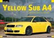 yellow sub a4 - Wolf Car-Hifi