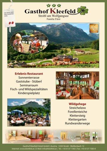 Kleefeld Gasthof Erlebnis Restaurant - Gasthof Kleefeld