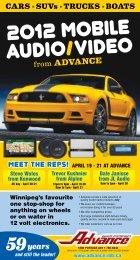 MEET THE REPS! - Advance Electronics