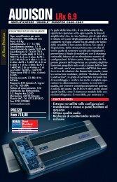 AUDISON LRx 6.9 - Audio Car Stereo
