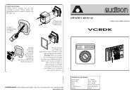 owner's manual vcrdk - vzdy.cz