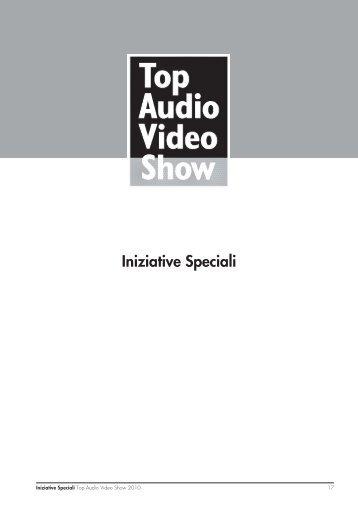 Iniziative Speciali - Top Audio Video Show