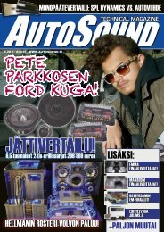 technical magazine - AutoSound