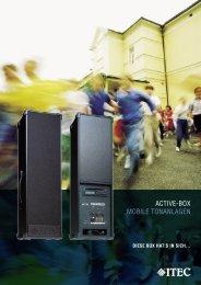 ACTIVE-BOX MOBILE TONANLAGEN
